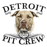 detroit pit crew logo shop embroidered dog rescue icon